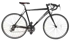 Vilano Aluminum Road Bike 21 Speed Shimano, Black, 50cm Small