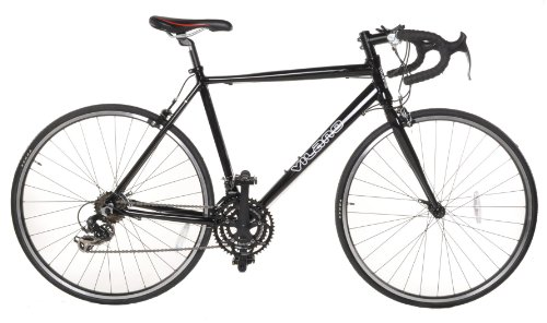 Vilano Aluminum Road Bike 21 Speed Shimano, Black, 50cm Small