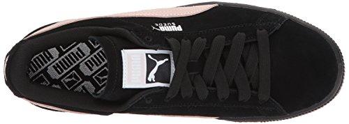 Puma Women's Suede Classic WN Sneaker, Cameo Brown White, B(M) US Puma Black-pearl