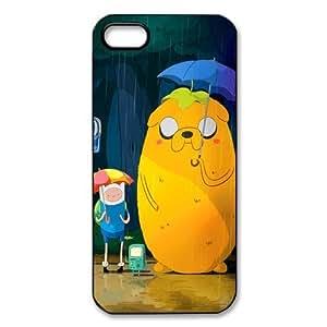 Adventure Time - mkCase estilo personalizado Cubierta de plástico (cáscara dura) la cubierta del caso para el iphone 5 5S QYF21024