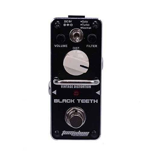 AROMA ABT-3 BLACK TEETH Vintage Distortion Effect Pedal Guitar Effect Pedal