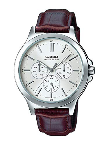 Casio Analog White Dial Men's Watch – MTP-V300L-7AUDF (A1177)