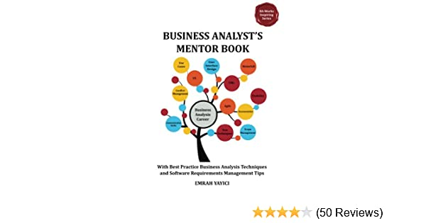 00e4b752 Business Analyst's Mentor Book : With Best Practice Business ...