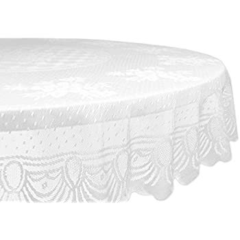 Good DII Home Essentials 100% Polyester, Machine Washable, Shabby Chic, Vintage  Tablecloth Or