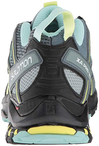 3D Running Blue Grey Women's Pro Stormy Trail Xa Shoes Weather Stormy W Eggshell Lead Weather Salomon Lead Eggshell Blue 8qxYwUtnSq