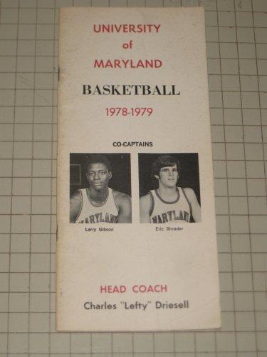 University of Maryland Basketball 1978-1979 Pamphlet -