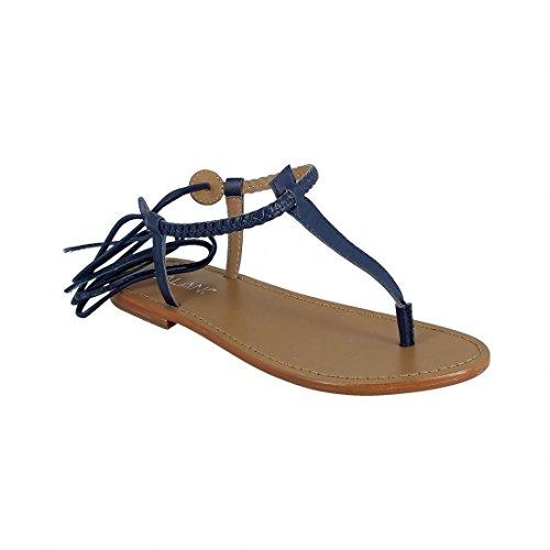 Calank Tongs / Sandales  Sephora Bleu - Chaussures Sandale Femme