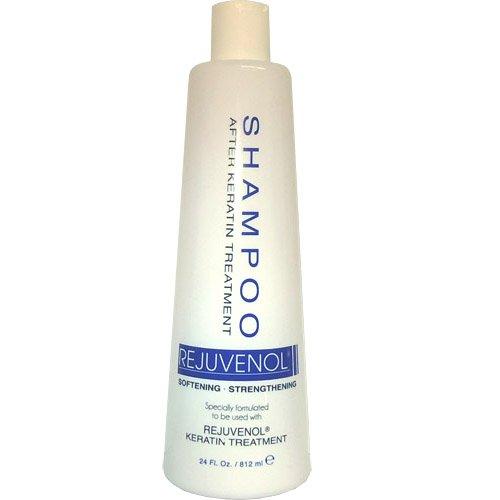 Rejuvenol Brazilian Keratin After Treatment Shampoo 24oz