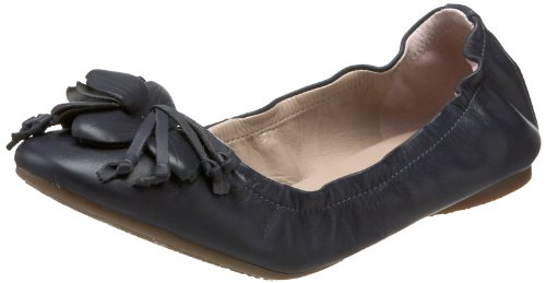Madison Harding Womens Clementine Ballet Flat Navy