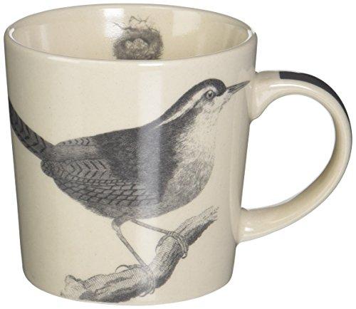- Paperproducts Design Gift Boxed Stoneware Mug, 13.5 oz, Botanical Bird, Multicolor