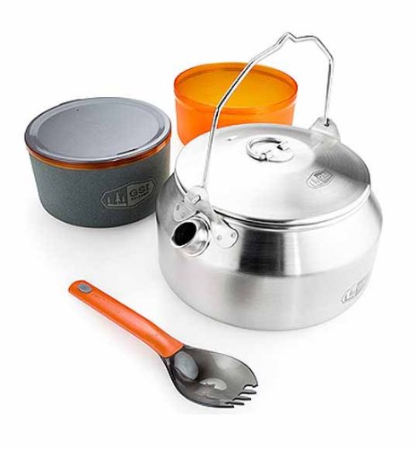 GSI Outdoors Glacier Stainless Ketalist 145;Person Cookset