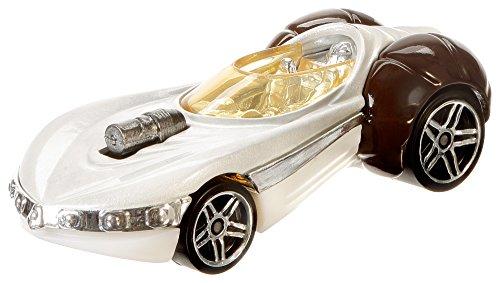 Star Wars Princess Leia Hot (Hot Wheels Star Wars Rogue One Character Car, Princess Leia)