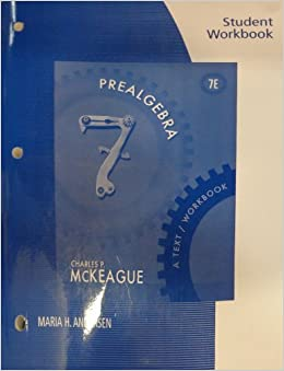 Book Student Workbook for McKeague's Prealgebra: A Text/Workbook, 7th