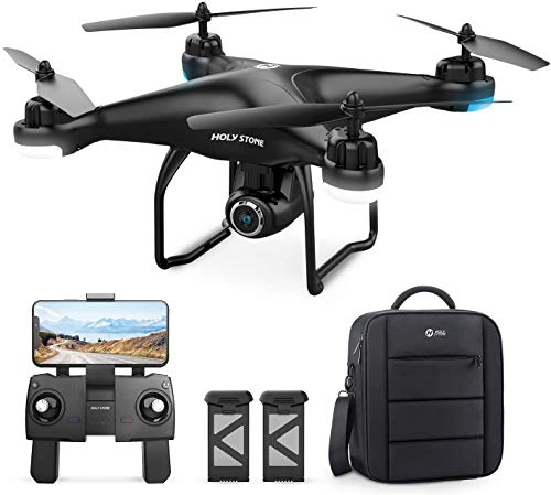 Holy Stone HS120D GPS Drone with 2K UHD Camera for Adults, FPV Quadcotper with Auto Return Home, Follow Me, Altitude…