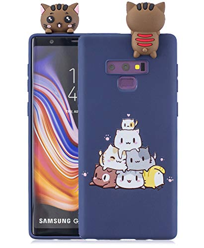 TopFunny Cases for Galaxy Note 9 Case Silicone 3D Cute Cartoon Print Animals Soft TPU Slim Fit Rubber Bumper Protective Gel Cover Shockproof Case Compatible with Samsung Galaxy Note 9 - Cartoon 3 Case 3d Note
