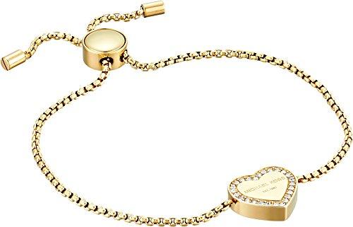 Michael Kors Logo Gold-Tone Slider Bangle - Core Michael