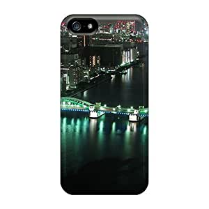 Fashion Protective Tokyo Panorama Case For Iphone 5/5S Cover