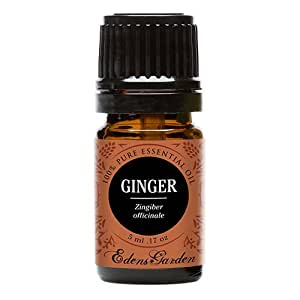 Ginger 100% Pure Therapeutic Grade Essential Oil by Edens Garden- 5 ml