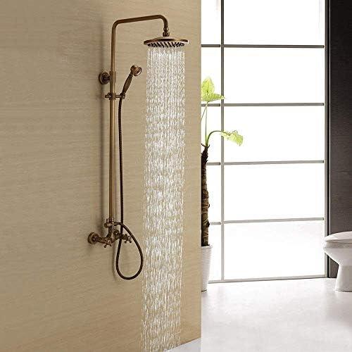 YASE-king 繊細な配管ハードウェアのシャワー蛇口セットシャワータップ蛇口セット銅家庭用シャワー