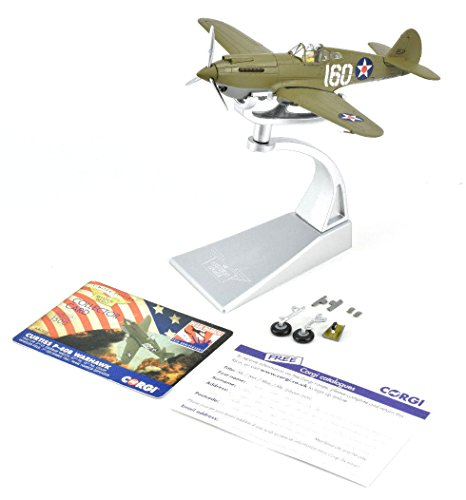Corgi Boys Curtiss P-40B Warhawk Pearl Harbor Defender 1:72 Diecast Military Aviation -  Corghi USA, CG28101