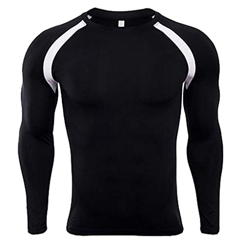 Men's Thermal Winter Gear Rashguard Compression Long Sleeve Top T Shirts -
