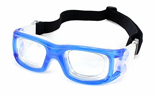 Ray Ron Eyewear for Basketball Glasses Sport Goggles Safety Glasses Adult Hard Frame Protective Transparent & - Sunglasses Over Target Glasses