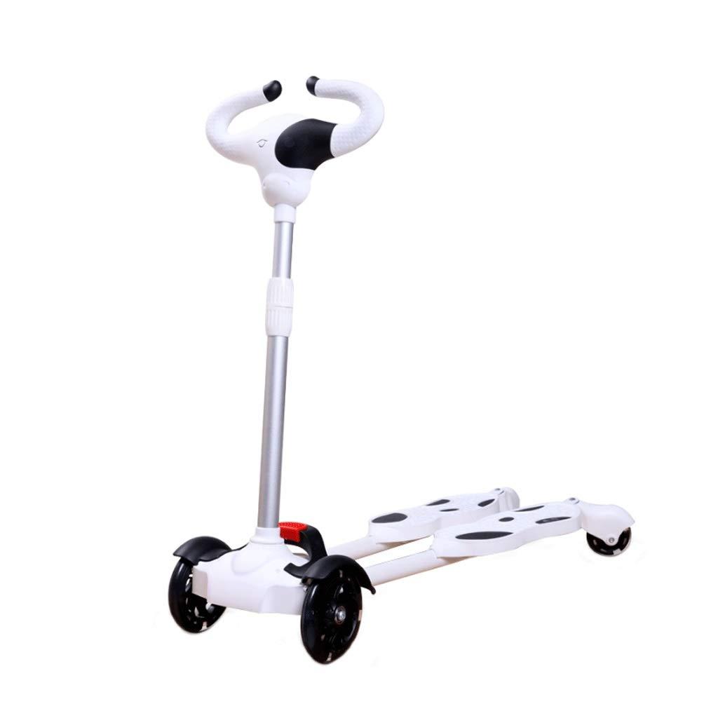 高価値 WangYi : Pink, スケートボード- 2-10歳に適した四輪フラッシュホイール子供スクーターカエルはさみ車 (色 : Pink, サイズ さいず : : 80x26x85cm) B07NPZVF7D 80x26x85cm|白 白 80x26x85cm, サプライズ激熱店:3e958107 --- a0267596.xsph.ru