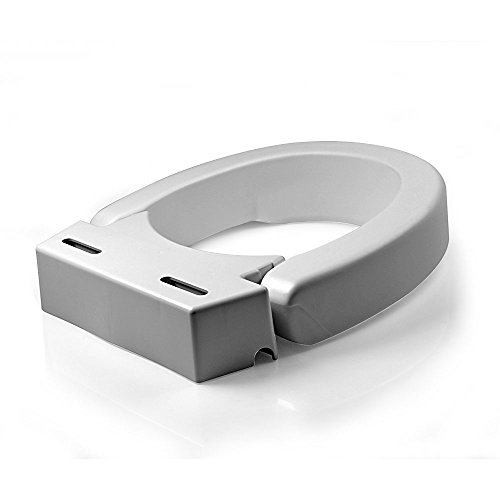Maddak Sp Ableware Hinged Elevated Toilet Seat Elongated