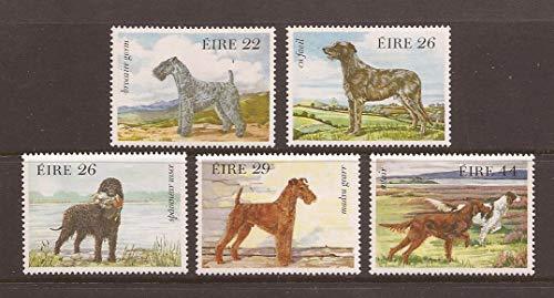 Ireland 1983 Irish Dogs Set of Five Postage Stamps, Catalog No 563-67 - Stamp Dog Postage