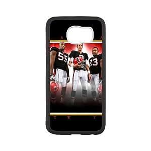 Atlanta Falcons Samsung Galaxy S6 Cell Phone Case White 218y3-161266