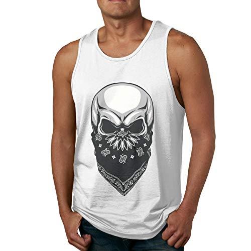 Men's Tank Tops Gym Vests Shirt Cool Masked