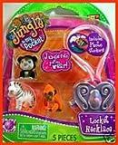 Jungle In My Pocket Best Deals - Jungle in my pocket Locket Necklace -Zacko, Archie & Cuddles