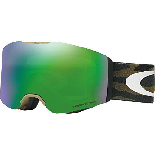 Oakley Fall Line Snow Goggles, Army/Camo Frame, Prizm Jade Iridium Lens, - Military For Oakleys