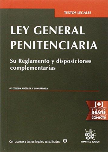 Descargar Libro Ley General Penitenciaria 6ª Edición 2015 Antonio Ferrer Gutiérrez