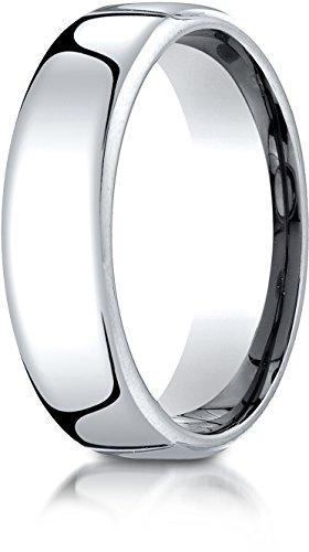White Gold Benchmark Wedding Ring - 3