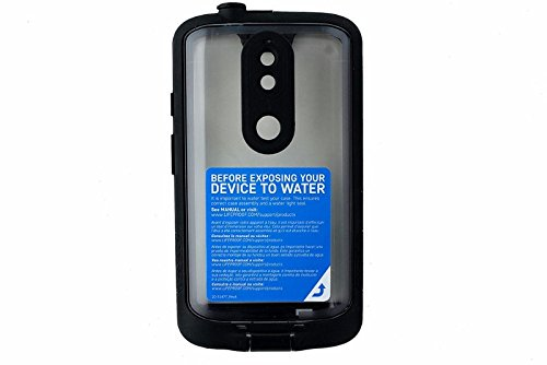 LifeProof FRE Series Waterproof Case for Motorola Droid Turbo 2 - Retail Packaging - BLACK