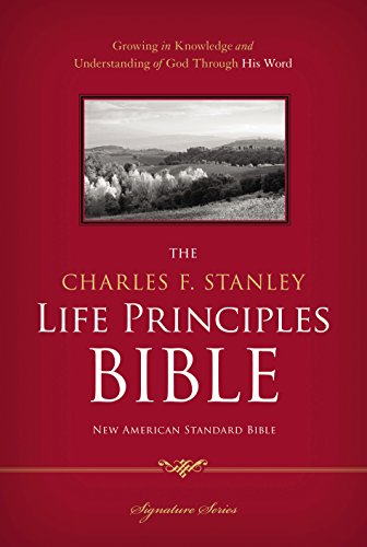 NASB, The Charles F. Stanley Life Principles Bible, eBook: Holy Bible, New American Standard Bible