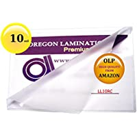 10 Mil Legal Laminating Pouches 9 x 14-1/2 Laminator Sleeves Qty 50