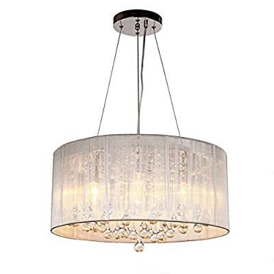 DINGGU™ Contemporary Pendant Chandelier Lighting with Cylinder Lamp Shade Modern Lighting Fixtures