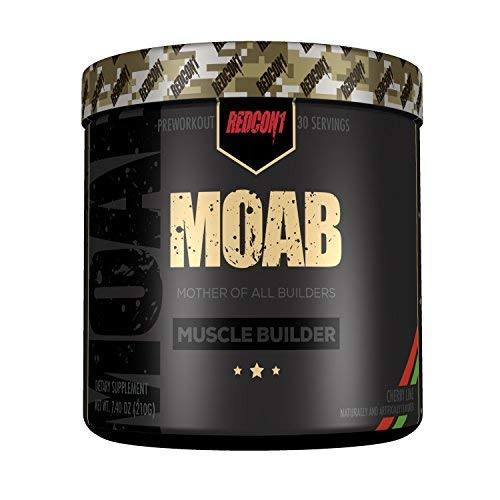 - MOAB  Mother Of All Builders , Muscle Builder - Cherry Lime