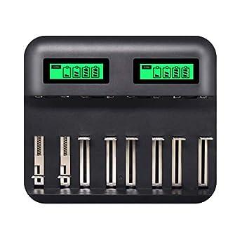Amazon.com: Gojiny - Cargador de batería universal USB para ...