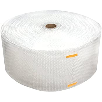 """Cell Packaging 700ft x 12"""" Small Bubble Cushioning Wrap 3/16, Perforated Every 12"""""""