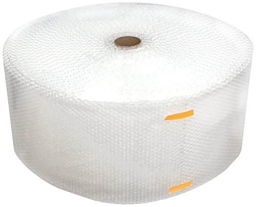 "Cell Packaging 700ft x 12"" Small Bubble Cushioning Wrap 3/16, Perforated Every 12"""