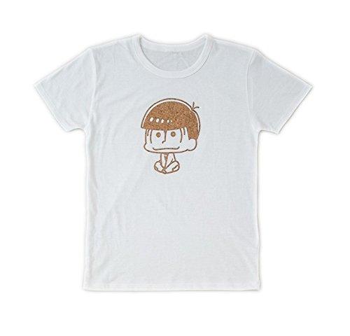 おそ松さん コルクプリントTシャツ おそ松 白 M