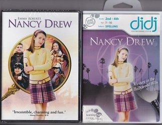 Leapfrog didj Custom Learning Game & Movie (NANCY DREW Mystery in the Hollywood Hills (Spelling 2nd-4th grade) Learning Path GAME & NANCY DREW MOVIE)