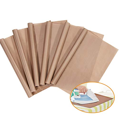 PTSLKHN PTFE Teflon Sheet for Heat Press Transfer Sheet Non Stick 16 x 20