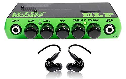 Trace Elliot ELF 200w Ultra Compact Bass Amplifier Amp+Mackie In-Ear -