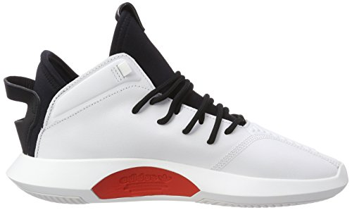Black 0 Red Core White de Footwear res Crazy Basketball Performace ADV adidas Blanc Chaussures 1 Hi PUFPwZ