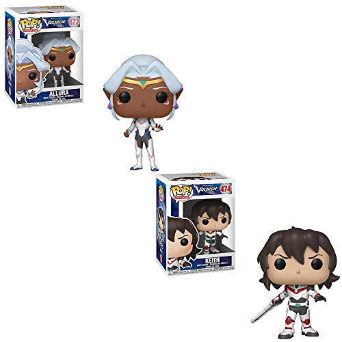 Funko POP! Animation Voltron Legendary Defender: Allura and Keith Toy Action Figure - 2 POP Bundle