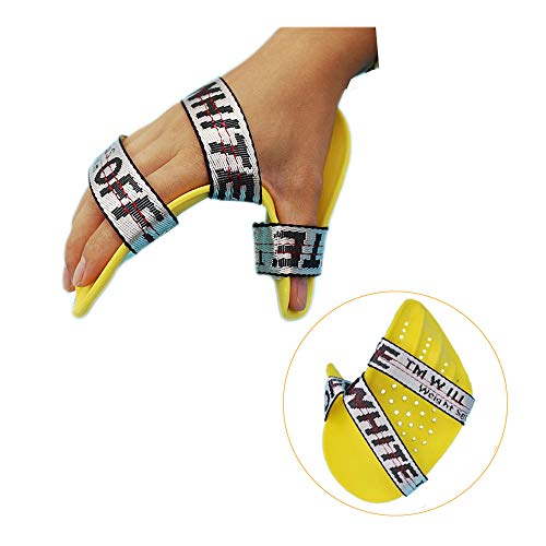 - Resting Splint Finger Separator Hand Brace Splint Right Medium Neuropathy Immobilizer Extension Stroke Fingerboard Orthotics Therapy Rehabilitation for Hand Dysfunction Limb Abnormal Tension (Right)